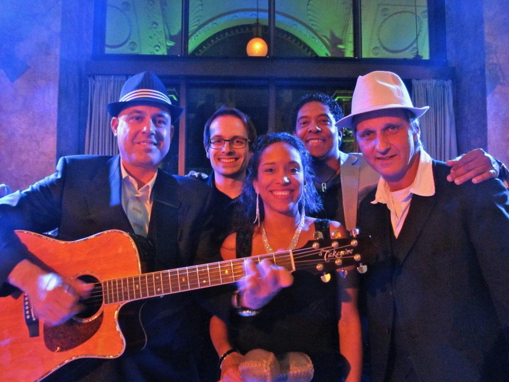 Garten Konzert mit Grupo Andaré